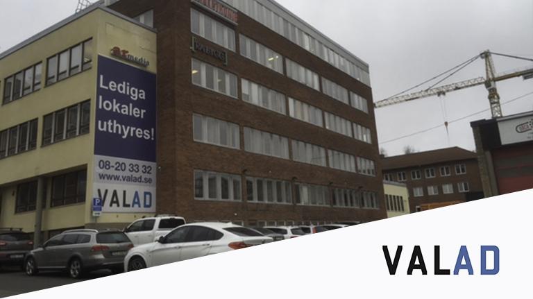Kontor- och lagerfastighet i Västberga, stockholm