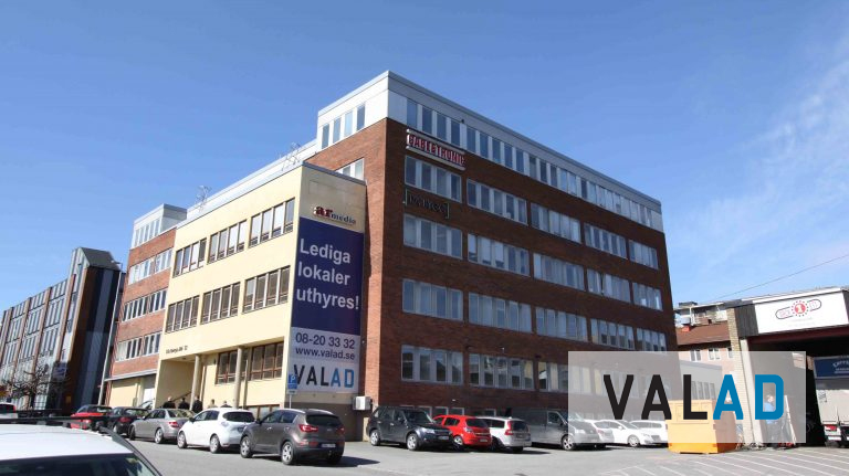 Valad. Lager/kontor i stockholm
